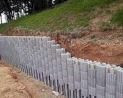 Muro pré fabricado